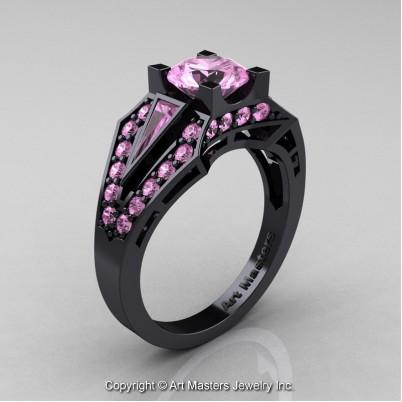 Classic-Edwardian-14K-Black-Gold-1-0-Ct-Light-Pink-Sapphire-Engagement-Ring-R285-14KBGLPS-P-402×402